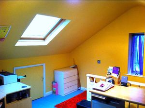 Attic Room- click for photo gallery